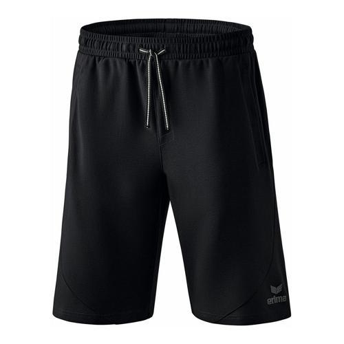 Short sweat - Erima essential noir