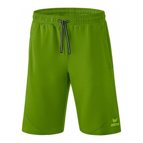 Short sweat - Erima essential twist of lime/lime pop