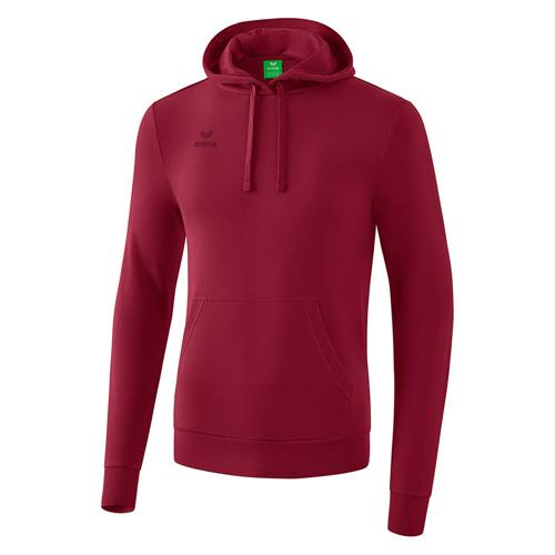 Sweat à capuche - Erima bordeaux