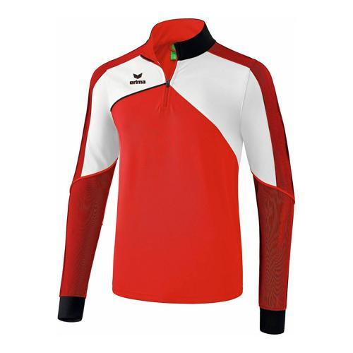 Sweat d'entraînement - Erima premium one 2.0 enfant rouge/blanc/noir