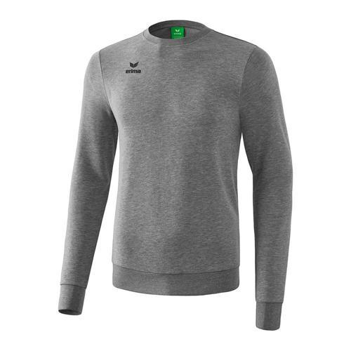 Sweat-shirt - Erima - enfant gris melange