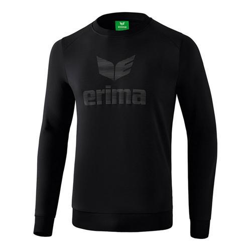 Sweat-shirt - Erima essential enfant noir/gris