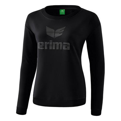 Sweat-shirt - Erima essential femme noir/gris