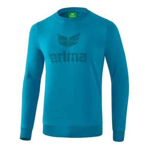 Sweat-shirt - Erima essential oriental blue/colonial blue
