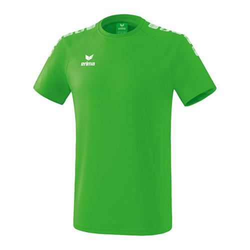 T-Shirt - Erima - 5-c essential enfant green/blanc