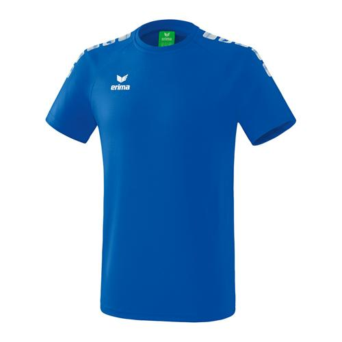 T-Shirt - Erima - 5-c essential enfant new roy/blanc