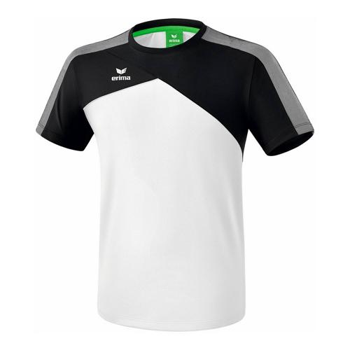 T-shirt - Erima - premium one 2.0 enfant blanc/noir/blanc