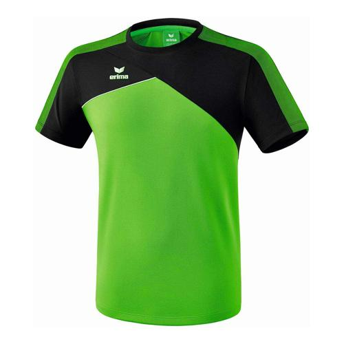 T-shirt - Erima - premium one 2.0 enfant green/noir/blanc