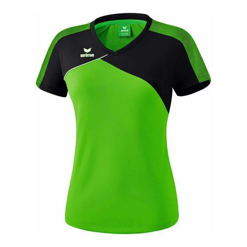 T-shirt - Erima - premium one 2.0 femme green/noir/blanc