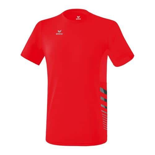 T-shirt - Erima - running race line 2.0 enfant rouge