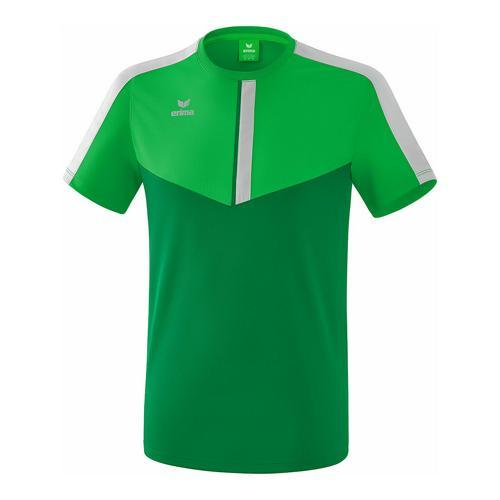 T-shirt - Erima - squad fern green/smaragd/silver grey