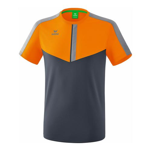 T-shirt - Erima - squad new orange/slate grey/monument grey