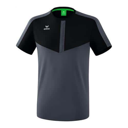 T-shirt - Erima - squad noir/slate grey