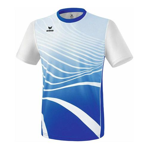 T-shirt athlétisme - Erima athletic enfant new roy/blanc