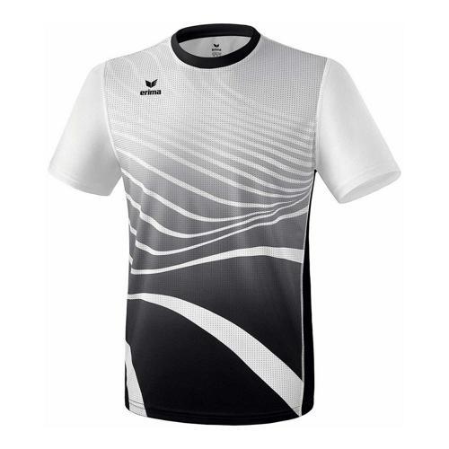 T-shirt athlétisme - Erima athletic enfant noir/blanc