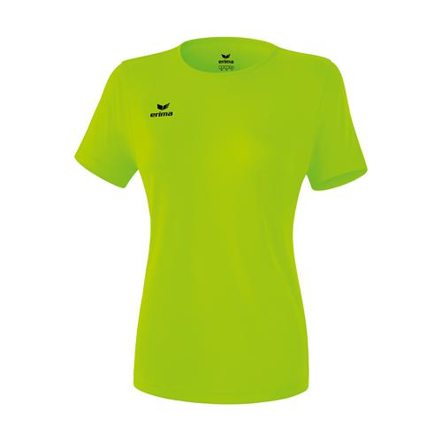 T-shirt fonctionnel teamsport - Erima - casual basic femme green gecko