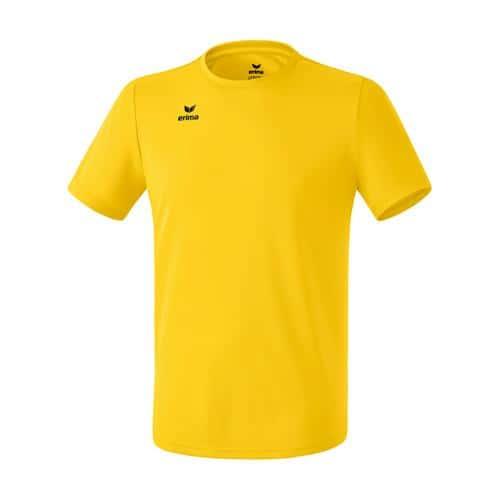 T-shirt fonctionnel teamsport - Erima - casual basic jaune