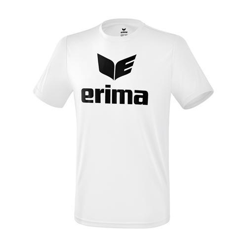 T-shirt promo fonctionnel Erima - enfant blanc/noir