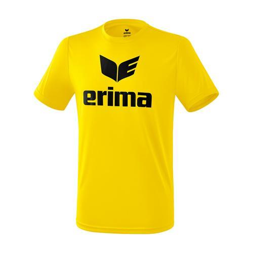 T-shirt promo fonctionnel Erima - enfant jaune/noir