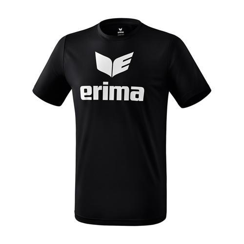 T-shirt promo fonctionnel Erima - enfant noir/blanc