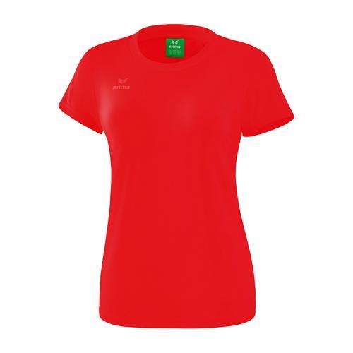 T-Shirt style - Erima - femme rouge