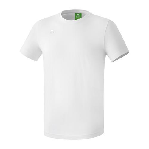 T-shirt Teamsport - Erima casual basic blanc