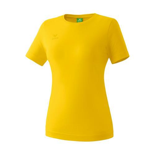 T-shirt Teamsport - Erima casual basic femme jaune