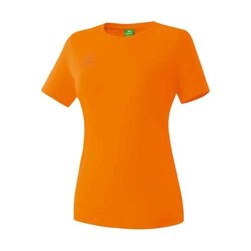 T-shirt Teamsport - Erima casual basic femme orange