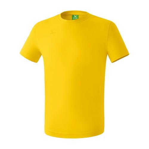 T-shirt Teamsport - Erima casual basic jaune