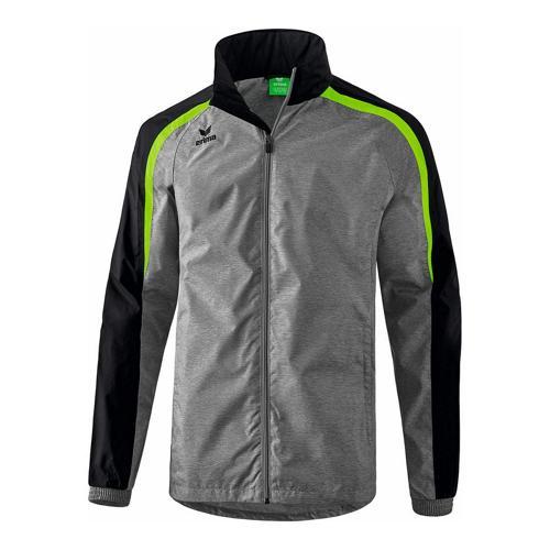 Veste de pluie - Erima - liga 2.0 gris/noir/green gecko