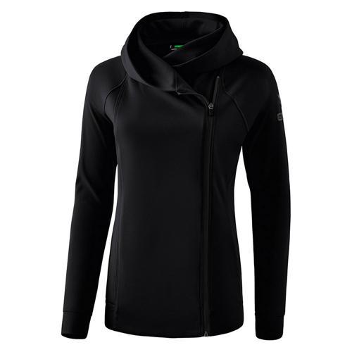 Veste sweat à capuche - Erima - essential femme noir/gris