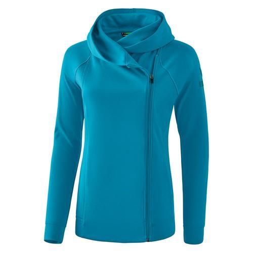 Veste sweat à capuche - Erima - essential femme oriental blue/colonial blue
