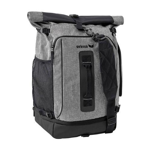 Sac 2 en 1 - Erima - travel line travel pack gris chiné