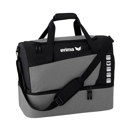 Sac de sport - Erima - club 5 avec compartiment inférieur granit/noir taille S