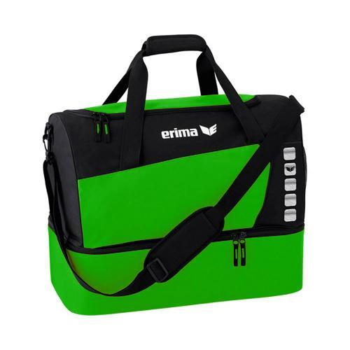 Sac de sport - Erima - club 5 avec compartiment inférieur green/noir taille M
