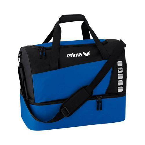 Sac de sport - Erima - club 5 avec compartiment inférieur new roy/noir taille M