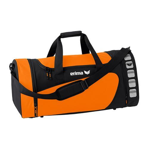 Sac de sport - Erima - club 5 orange/noir taille M