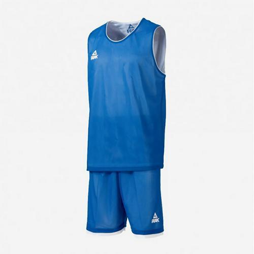 Ensemble réversible de basket adulte - Peak bleu/blanc