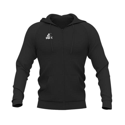 Sweat à capuche zippé enfant Peak noir