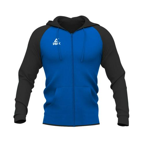 Sweat à capuche zippé enfant Peak bleu