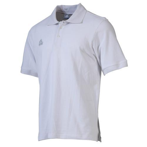 Polo - Peak coton blanc