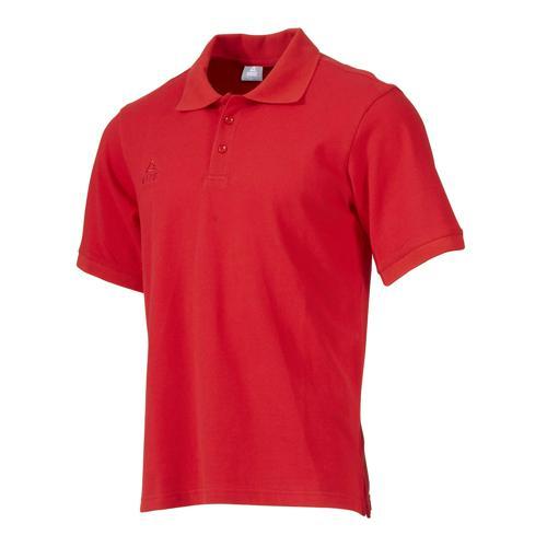 Polo - Peak coton rouge