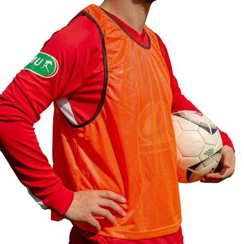 5 Chasubles de sport - Orange