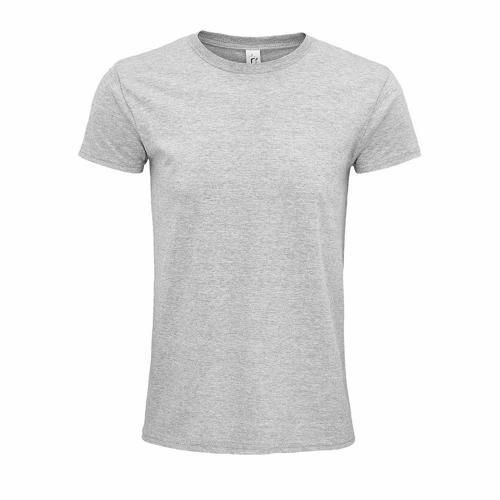 Tee-shirt coton organique bio GRIS CHINÉ