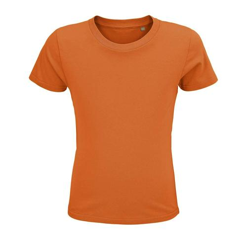 Tee-shirt enfant coton organique bio ORANGE