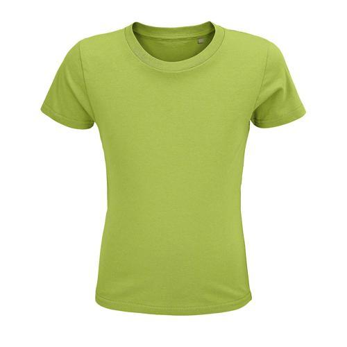 Tee-shirt enfant coton organique bio VERT POMME
