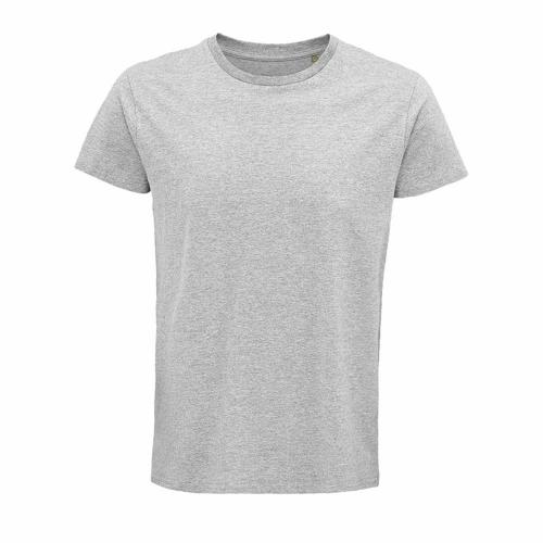 Tee-shirt personnalisable coton organique bio GRIS CHINÉ