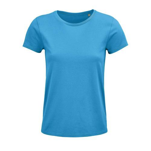 Tee-shirt femme coton organique bio AQUA