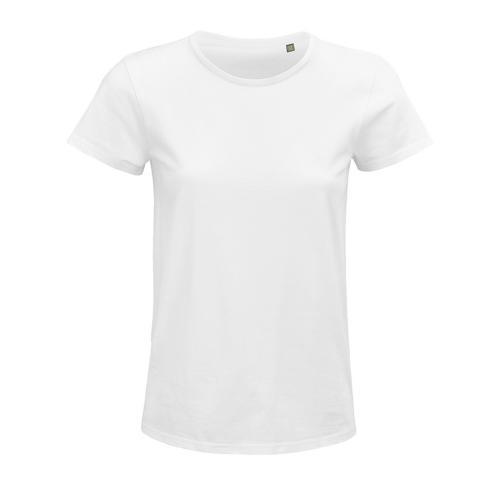 Tee-shirt femme coton organique bio BLANC