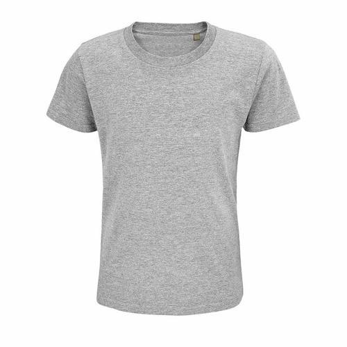 Tee-shirt enfant coton organique bio GRIS CHINÉ
